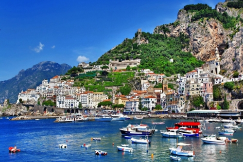 Amalfi Coast by Sea
